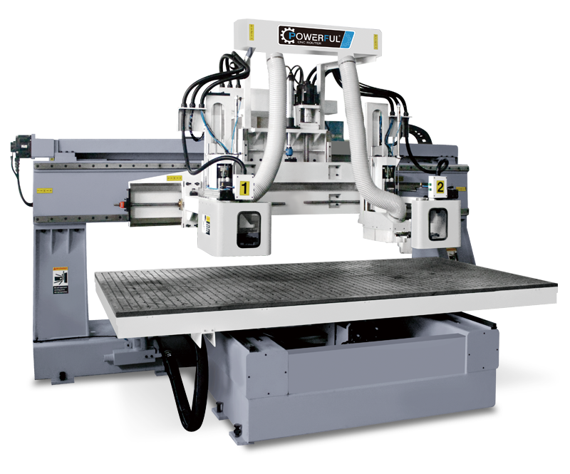 HA2-1325/1632Fixed Double Column CNC Router